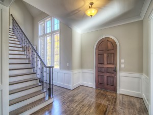 Avery Court foyer and stairway