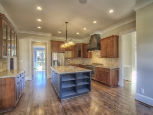 Avery Court kitchen island